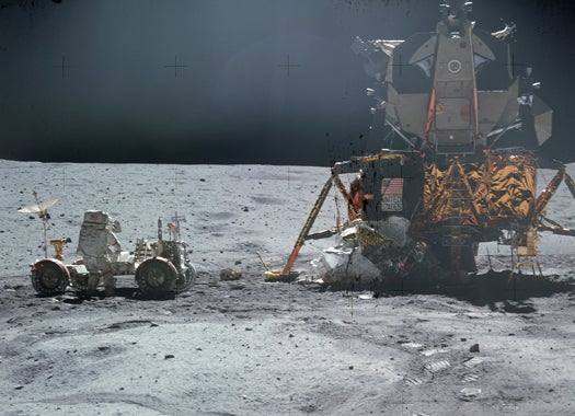 In Simulation, Moon Dust Found to Be Toxic to Humans