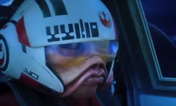 New Star Wars Footage Shows Multi-Species X-Wing Squadron