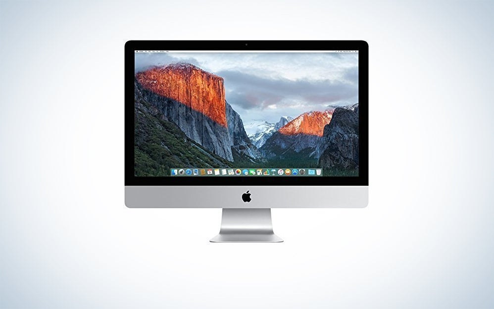 Apple certified refurbished iMac