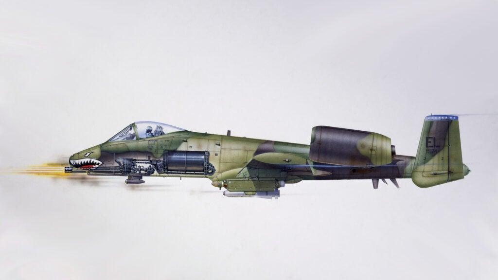 Modern Equivalent: Fairchild-Republic A-10 Thunderbolt II