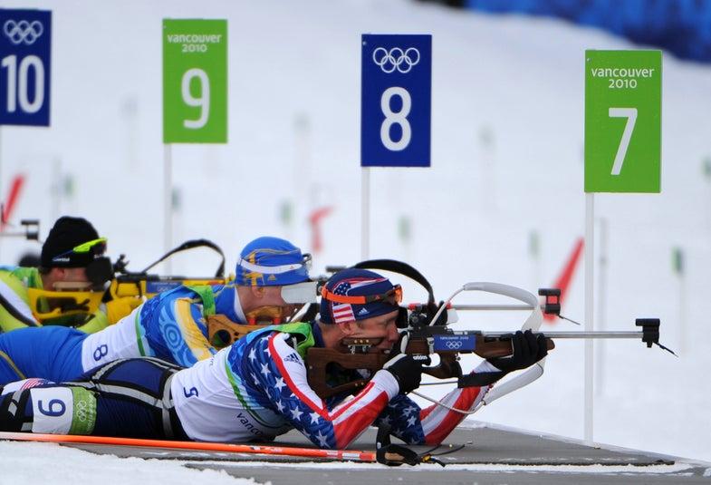 winter olympics biathlon