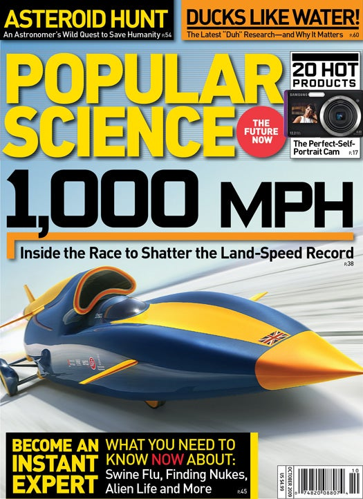 October 2009 Issue: The Race to 1,000 MPH