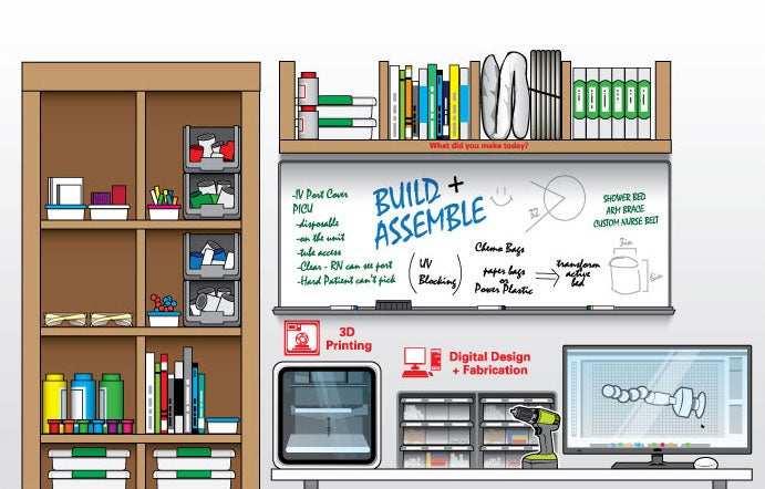 The First Makerspace In A Hospital