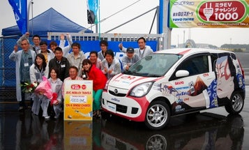 EV Powered By Laptop Batteries Sets World Record, Cruising 600 Miles on a Single Charge