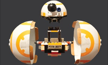 Behold, A BB-8 Made Of Legos