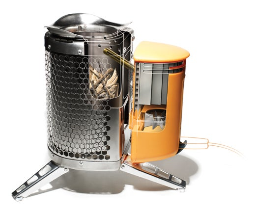 A Wood-Burning Camp Stove That Doubles As A Gadget Charger