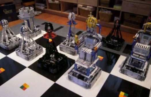 'Monster Chess' Autonomously Puts You in Check With Massive Lego Robot Pieces