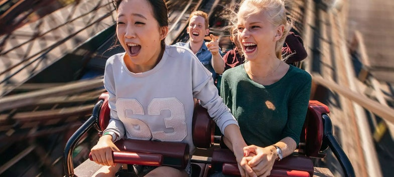 The exhilarating history of roller coaster photography