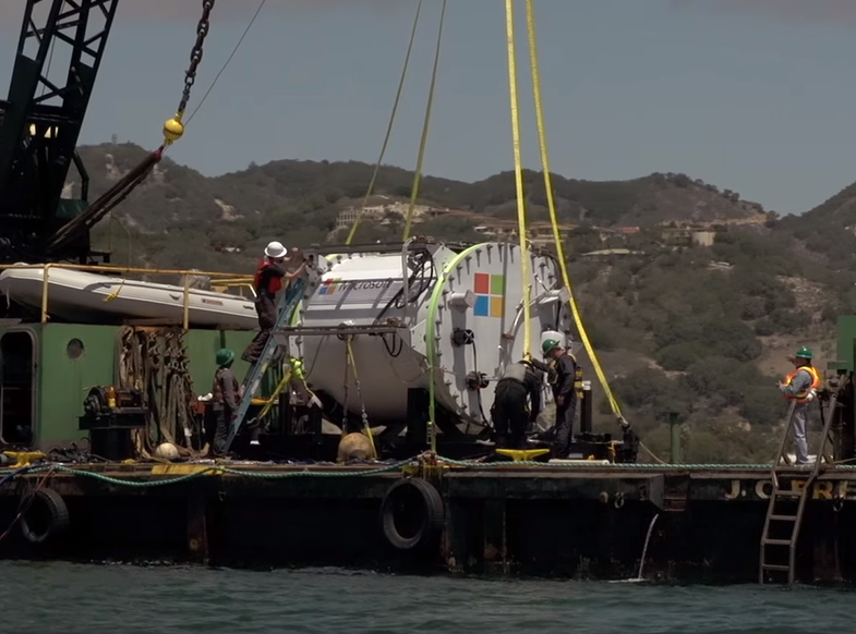 This Is Why Microsoft Is Putting Data Servers In The Ocean