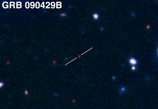 Gamma-Ray Burst is the (Latest) Most Distant Object Ever Seen