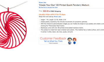 Amazon's New Store For 3-D-Printed Products Omits The Best Parts Of 3-D Printing