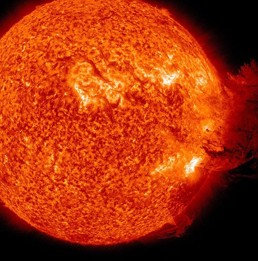 Video: This Morning There Was a Massive Solar Explosion