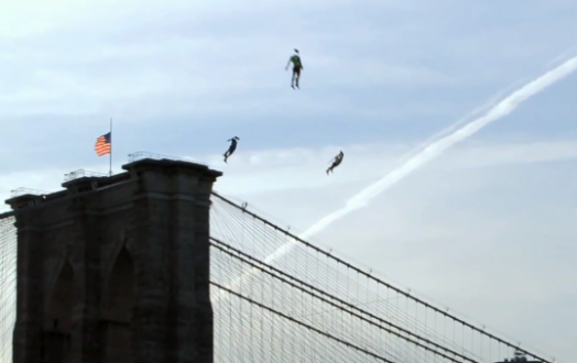Video: People Flying, Superhero Style, Over New York City