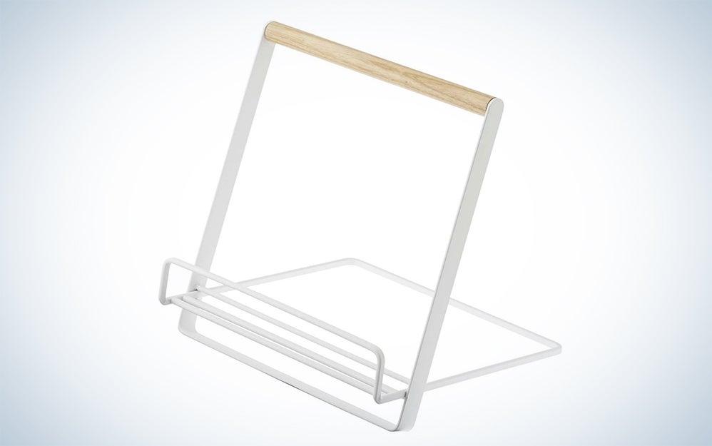 YAMAZAKI home Tosca Cookbook Stand,, White