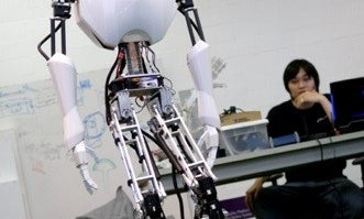 Virginia Tech Students Unveil Nation's First Full-Height, Free-Walking Humanoid Robot