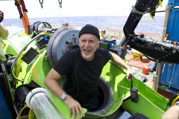 James Cameron Has Completed the Deepest Solo Dive Ever