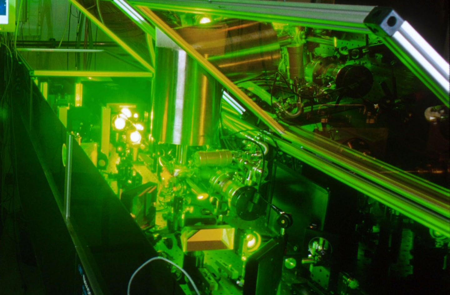 Super-Intense Laser Stretches Farther Than Ever