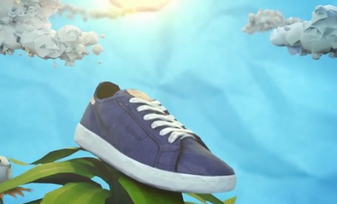 Reebok's new biodegradable sneakers are made from corn