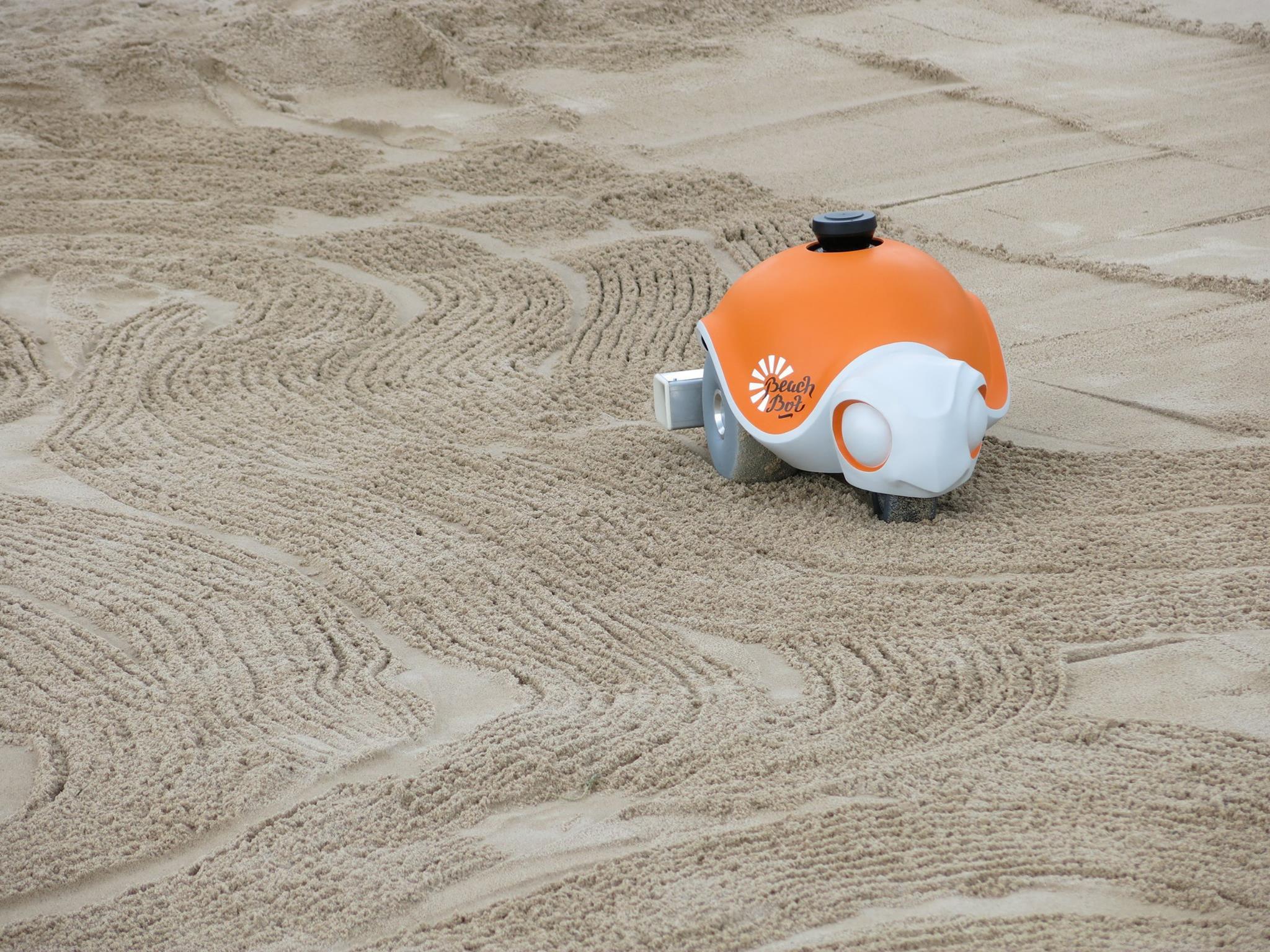 Disney Creates Beach-Dwelling Robot That Draws Adorable Cartoons In Sand