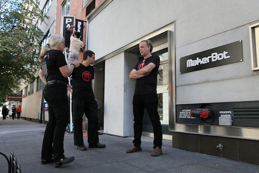 First 3-D Printing Store Opens In U.S.