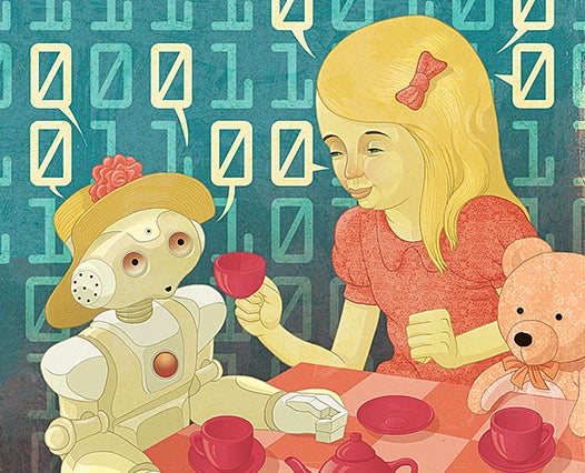 How Toys Are Preparing Kids For A Future With Robotic Friends