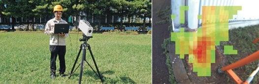 Portable Gamma Camera Displays Radioactivity in Real Time