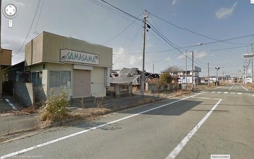 Google Street View Shows Abandoned Fukushima Town