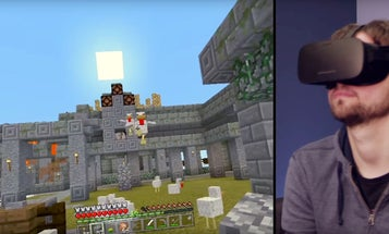 You Can Play Minecraft On The Oculus Rift Now