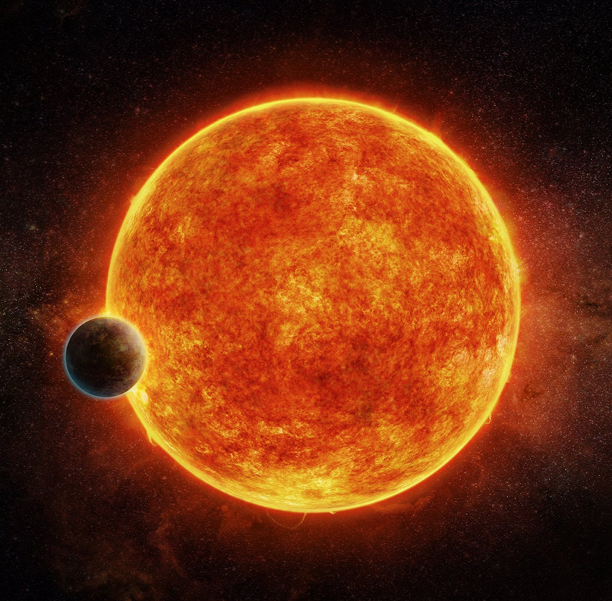 Scientists discover yet another rocky planet that could (maybe) host alien life
