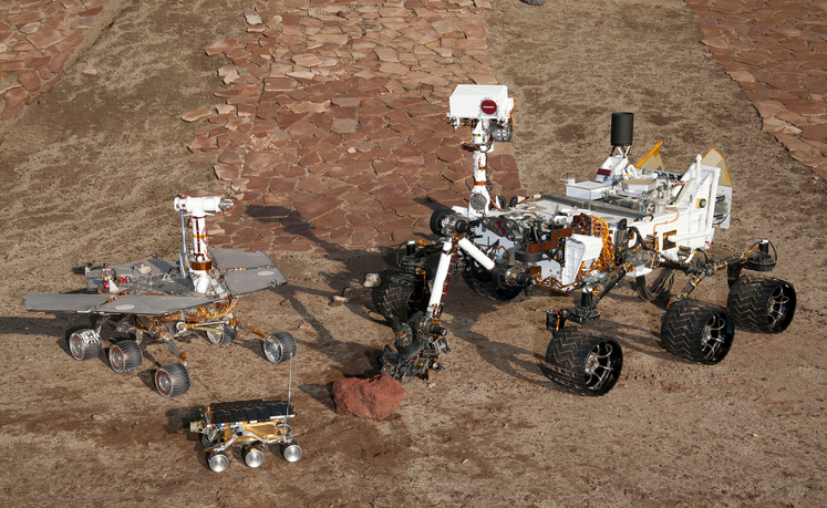 With Telerobotics, Astronauts Orbit Mars While Robots Explore the Surface