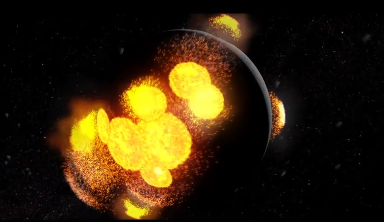 Video: The Evolution of the Moon in Three Minutes