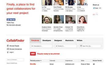 Website of the Month: CollabFinder