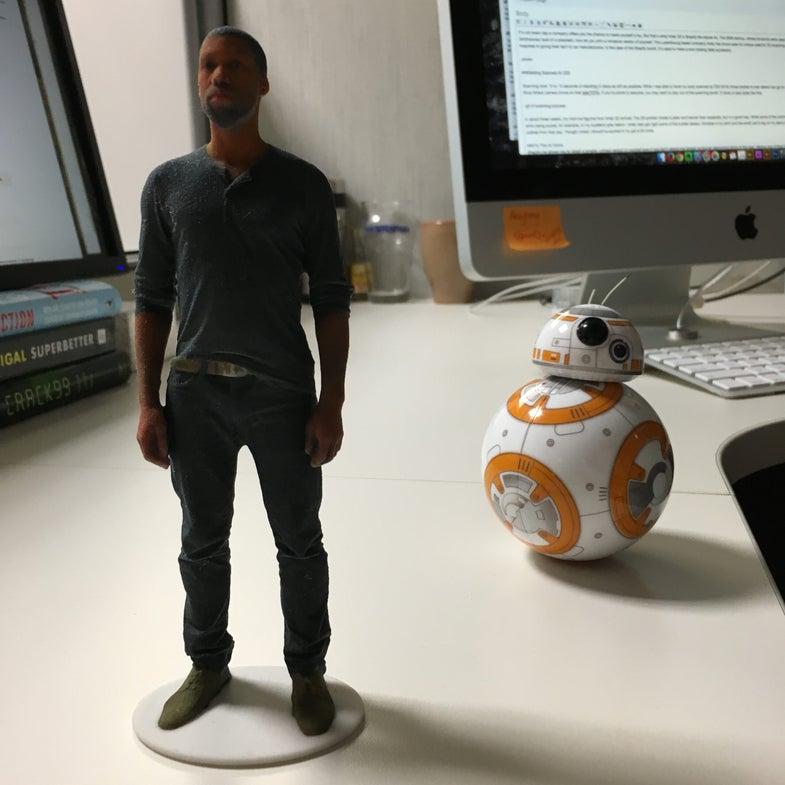How I Made A 3D-Printed Figurine Of Myself