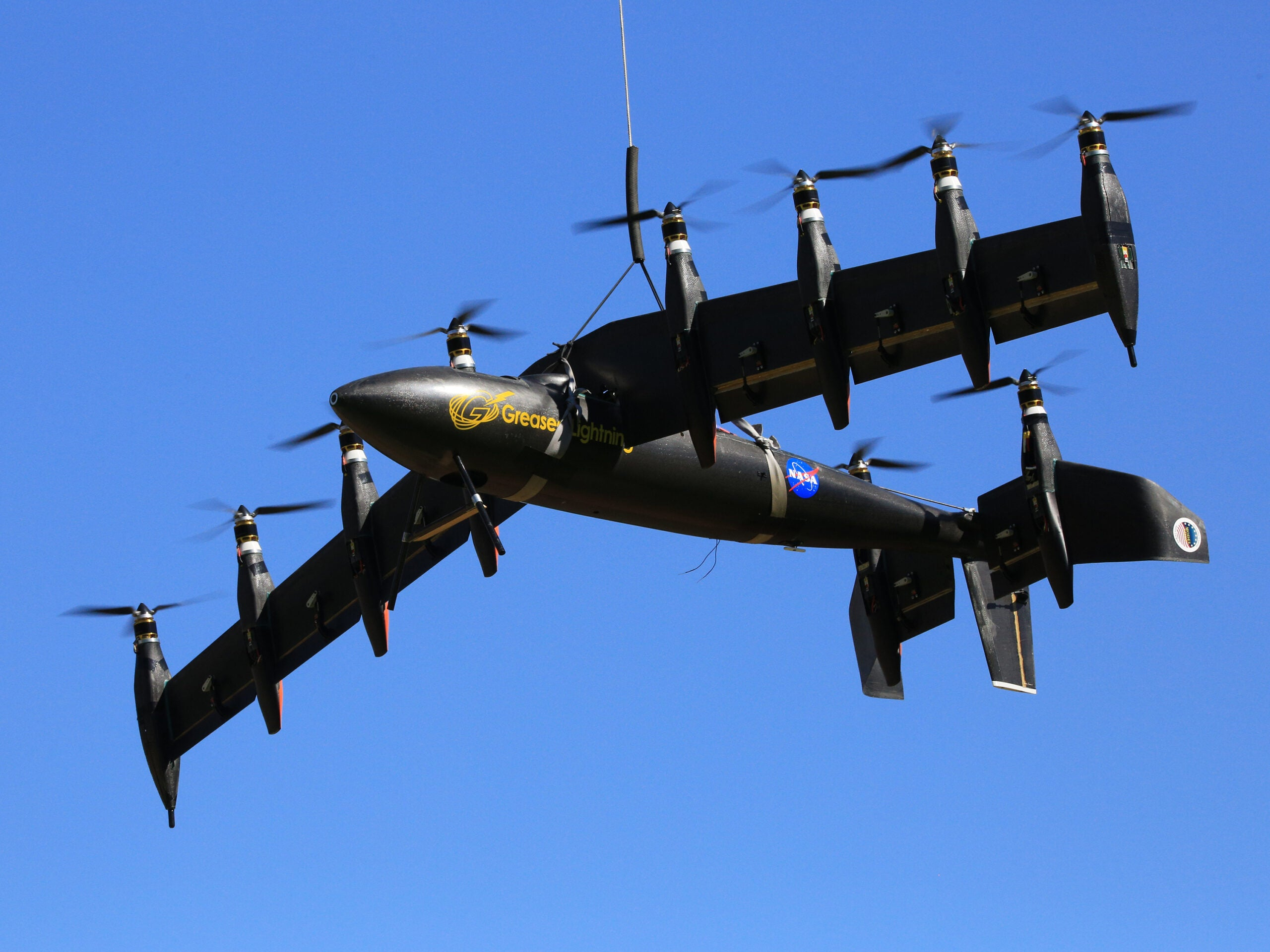 NASA's Greased Lightning Tests Vertical Takeoff