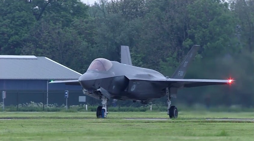First F-35s Arrive In Netherlands