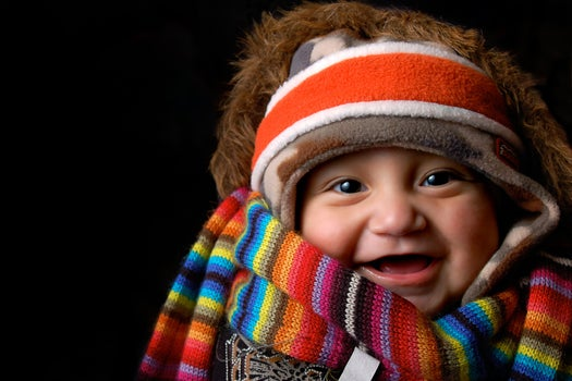 Babies Display Schadenfreude Toward People Who Are Different