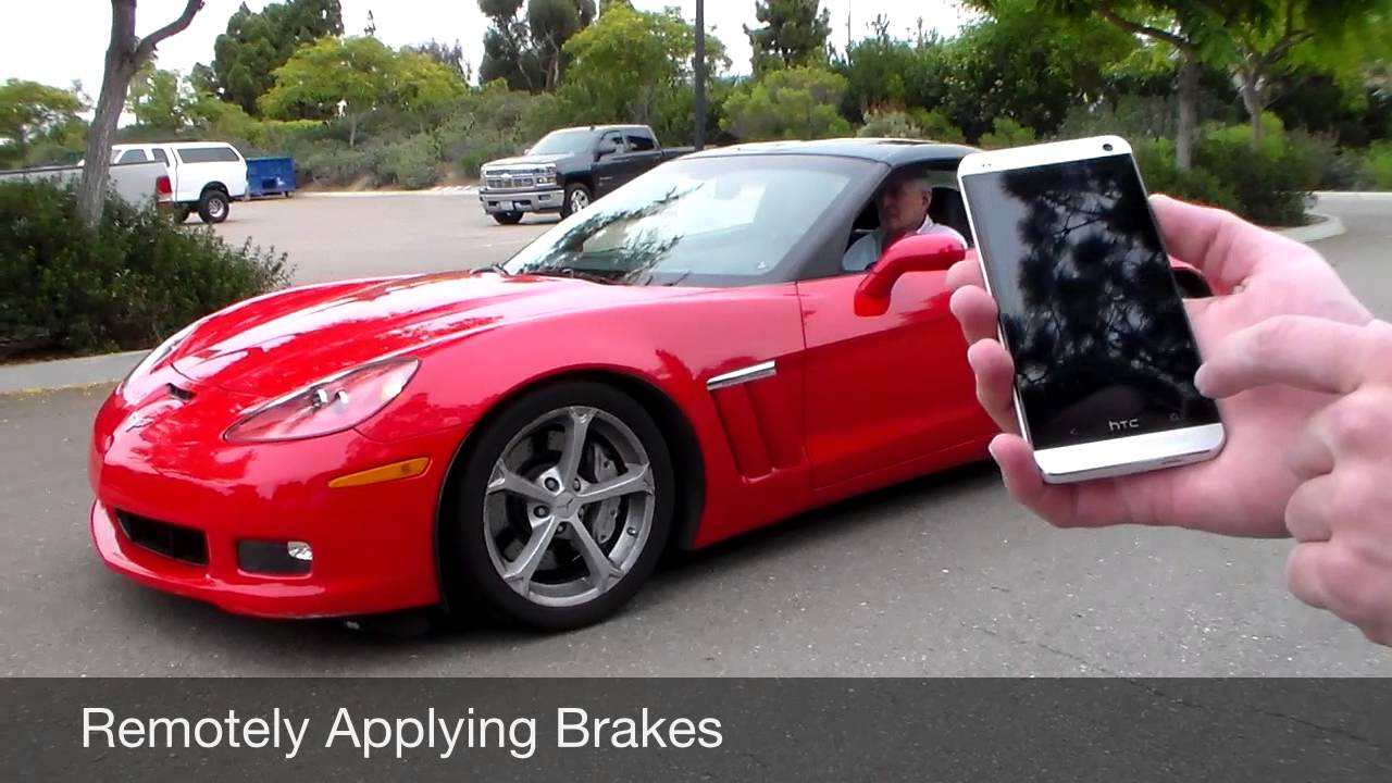 Corvette Brakes Hacked Using Text Messages