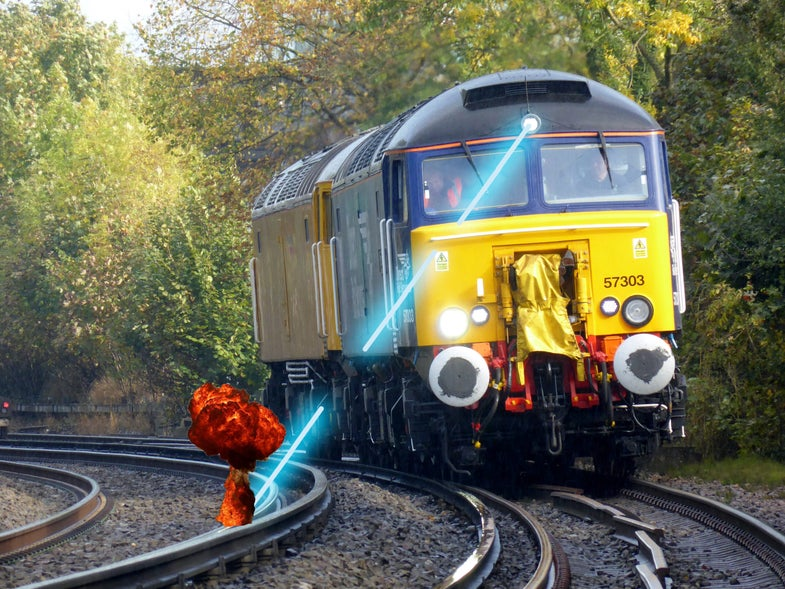 Trains Could Use Lasers To Blast Leaves Off Track