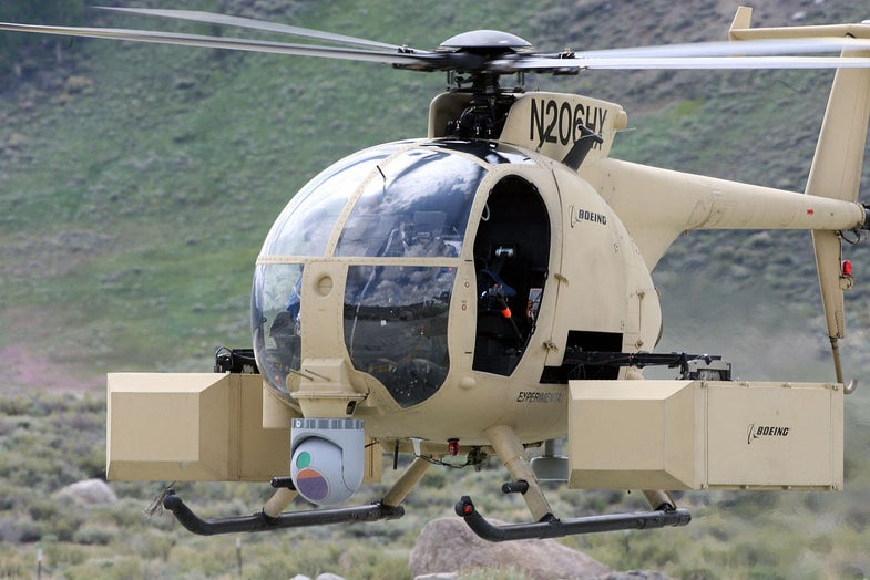 Unmanned Little Bird Helicopter