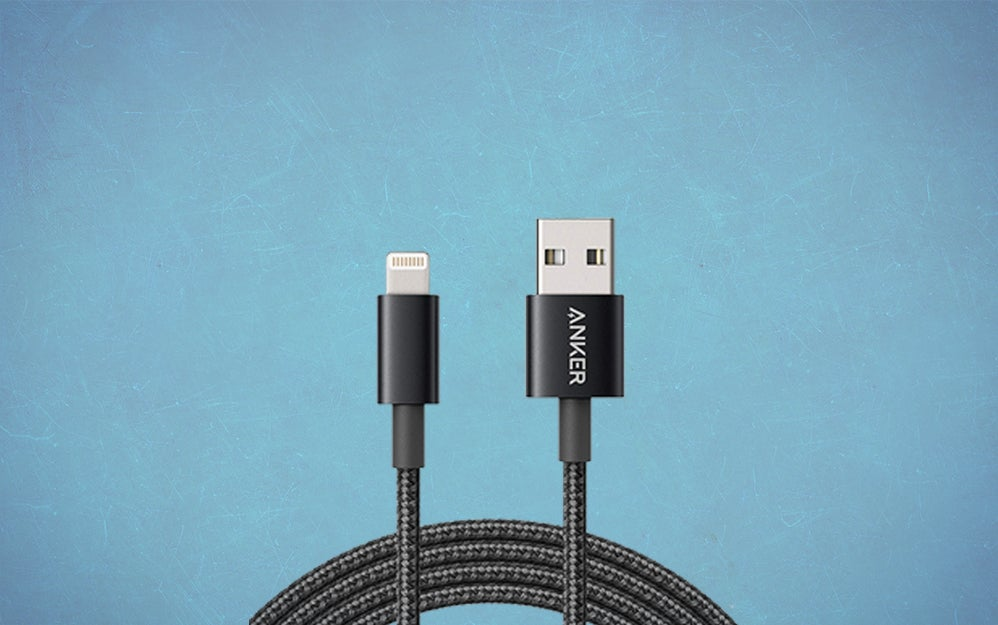 Anker braided lightning cable