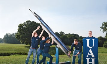 The Labs That Go Boom: The Propulsion Research Center Builds A Better Rocket