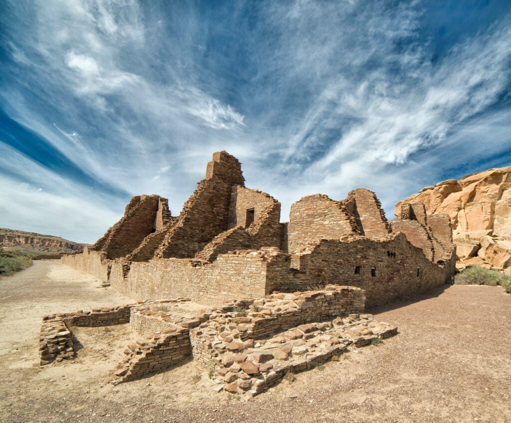 Remnants of the Chaco Canyon