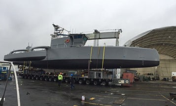 Check Out DARPA's Newly Completed Robot Ship