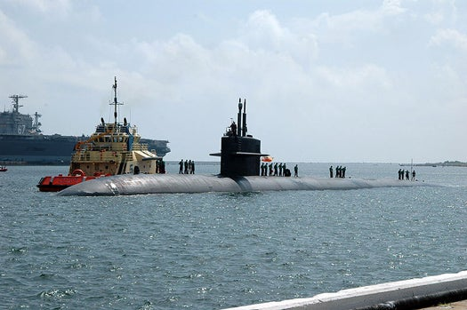 Nanotech Sonar Speakers and Microphones Could Make Subs Stealthier