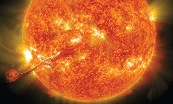 Megapixels: A 1-Billion-Ton Plasma Explosion On The Sun's Surface