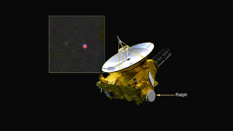 New Horizons Spacecraft Gets A Whiff Of Pluto's Methane