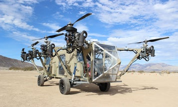 Will This Helicopter Truck Fly?