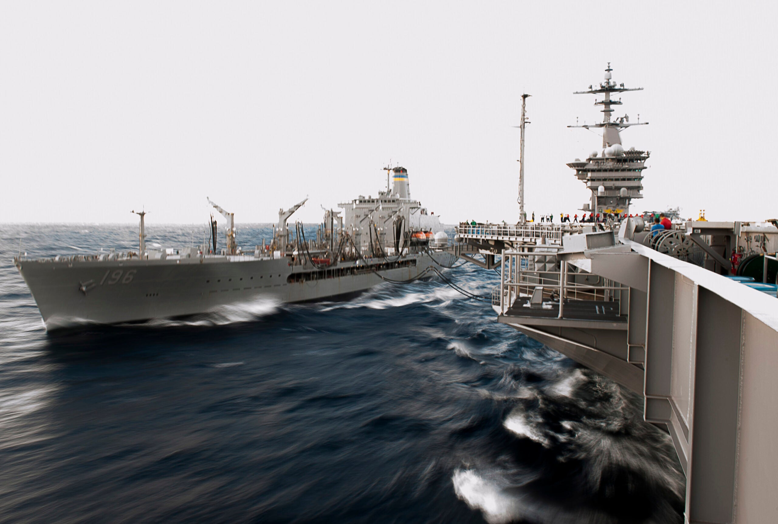 Warships, Glenn Frey and the Gas Stations of the Ocean