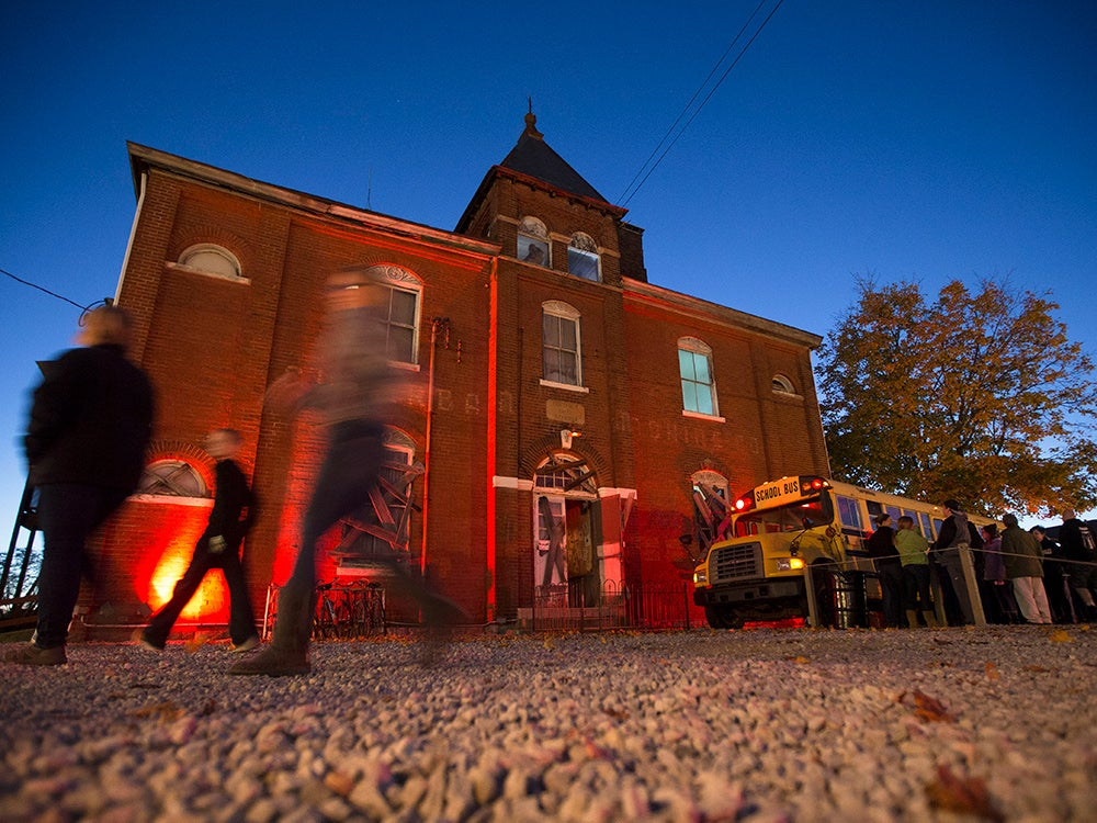 old Cincinnati schoolhouse haunted house
