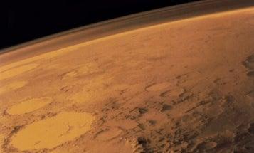 Oxygen Detected In Martian Atmosphere